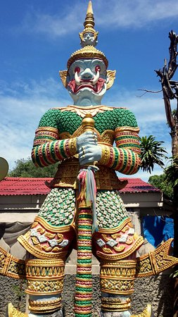 Bophut, Thailand: Big Buddha is a Buddhist monastery featuring the enormous statue known as Wat Phra Yai