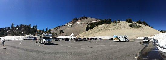 Mineral, CA: Blick hoch zum Lassen Peak