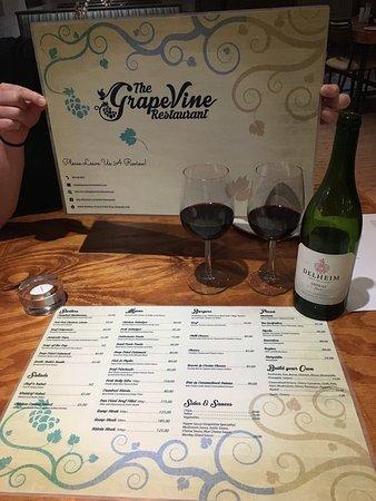 Vredendal, Afrika Selatan: The GrapeVine Restaurant