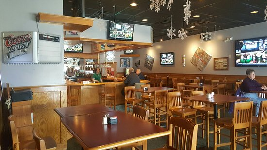 Brownsburg, IN: Bar dinning area