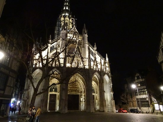 Nave looking east photo de glise saint maclou rouen tripadvisor - Balatum saint maclou ...