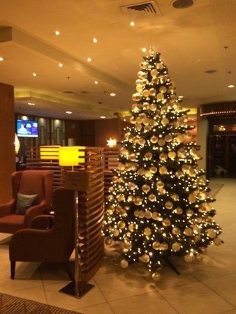 Sheraton Poznan Hotel: Christmas tree