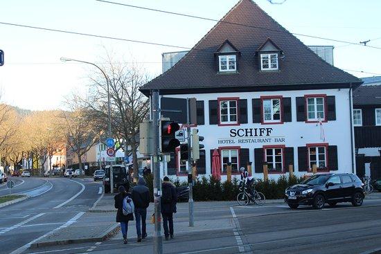 freiburger schiff hotel bar restaurant updated 2017 inn reviews price comparison germany. Black Bedroom Furniture Sets. Home Design Ideas
