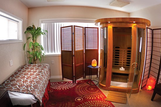 Our Infrared Sauna room Picture of Oly Float Olympia TripAdvisor