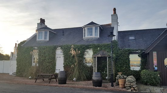 Balmedie, UK: The restaurant's building.
