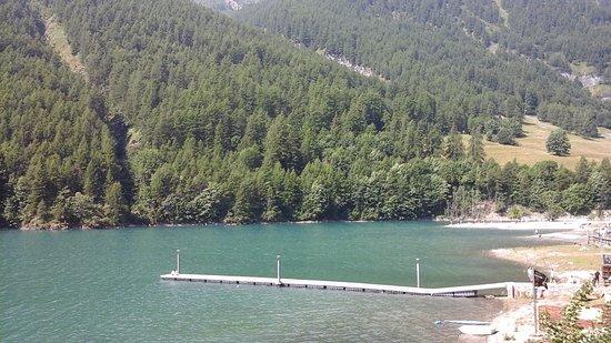 Pontechianale, Italie : lago