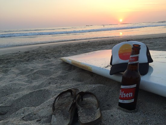 Nosara Beach (Playa Guiones): Perfect spot to watch the sunset