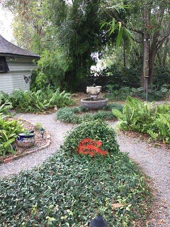 Stetson Mansion Garden Deland, Florida