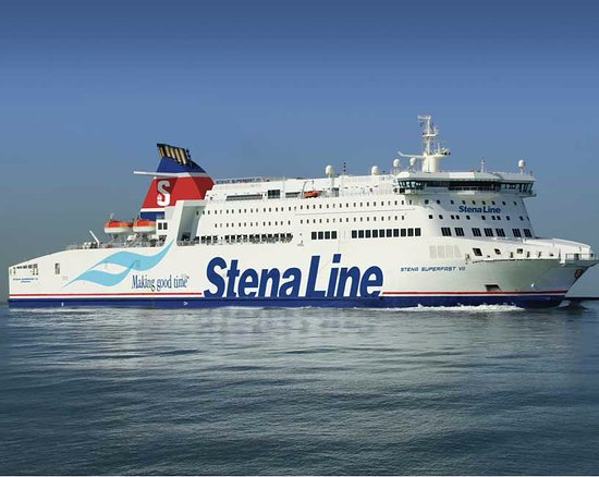 Cairnryan, UK : Stena Ferry 5 minutes from the B&B