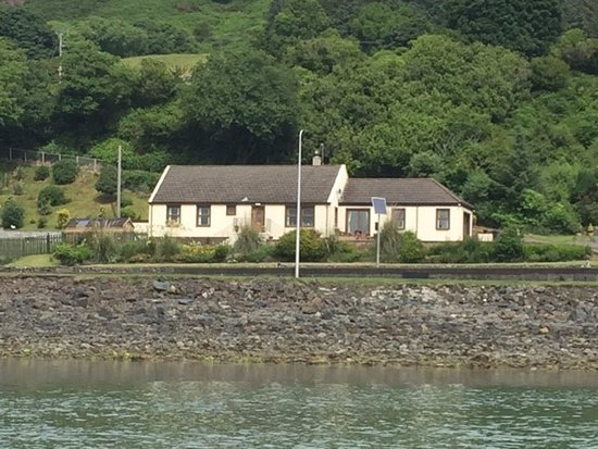 Cairnryan, UK: View of the B&B from P&O Ferry