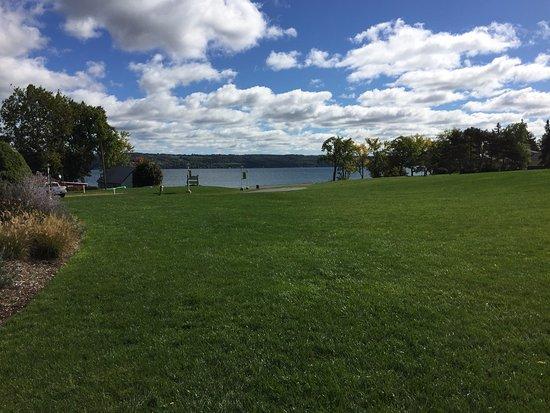 Ovid, NY: View of Cayuga Lake