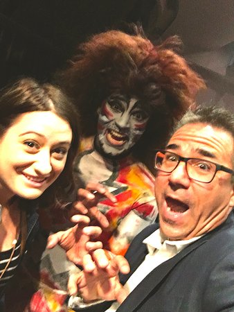 Milburn Stone Theatre: Travel writer, Mark P. Fisher getting into the spirit of CATS