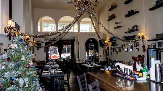 Spacy And Airy Picture Of Pushkin Russian Restaurant Bar San