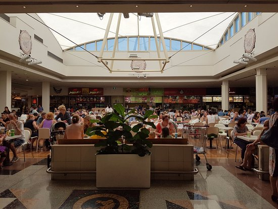 castle towers shopping centre the food court