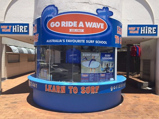 ‪Go Ride A Wave Surfers Paradise‬