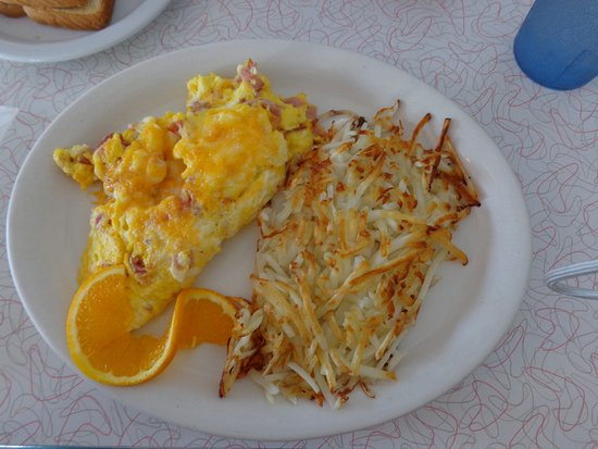 mr d z route 66 diner ham omelette was very good