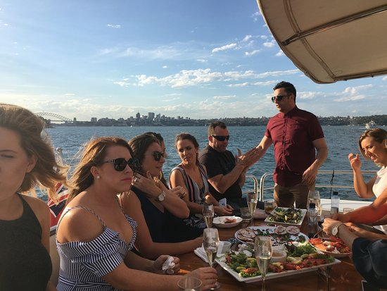 Sydney Harbour Escapes: Delicious food