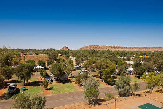 BIG4 MacDonnell Range Holiday Park : Grassed Powered Sites