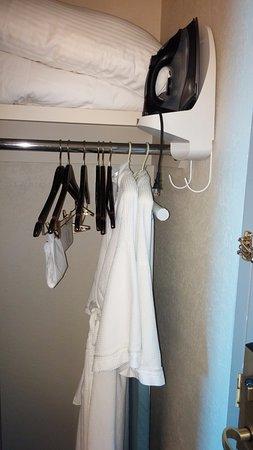 Moody Gardens Hotel Spa U0026 Convention Center: Closet, Extra Linens, Pillows,  Robes