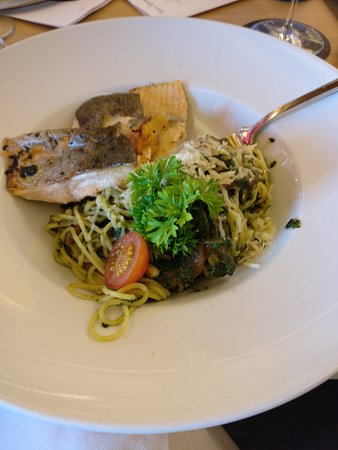 Langweid am Lech, Germany: Fish & Pasta