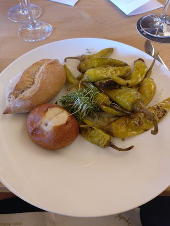 Langweid am Lech, Tyskland: Spicy Chillies with bread