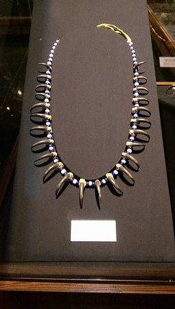 Danville, CA: I think this was the eagle claw necklace.