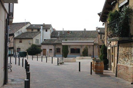 Saldana, Spania: Plaza del Marqués