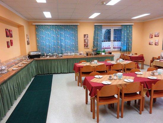 Hotel Schwartz: Breakfast room