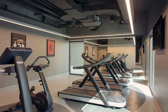 Gym Picture Of Rove Healthcare City Dubai Tripadvisor