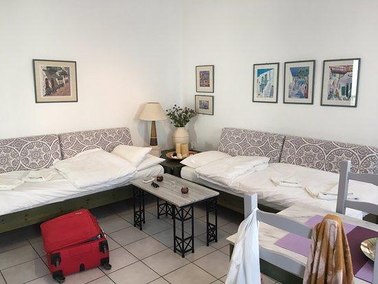 Daratsos, Grecia: Семейный номер (гостиная)