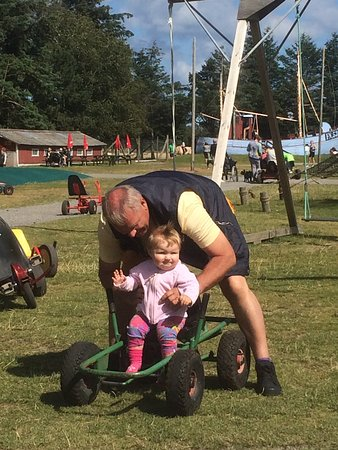 Farm Fun: Granny is helping out