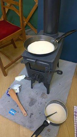 Rosemarkie, UK: Pancakes for breakfast