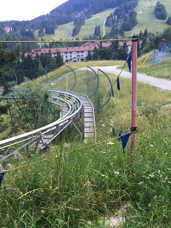 Piancavallo, Italy: Rotaie Aplin Coaster