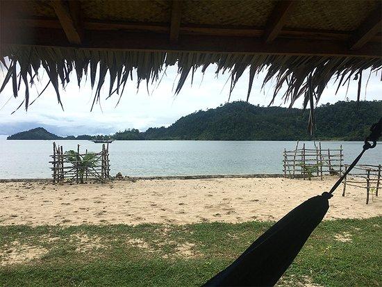 Nagari Sungai Pinang, Indonesien: View from our bungalow... paradise