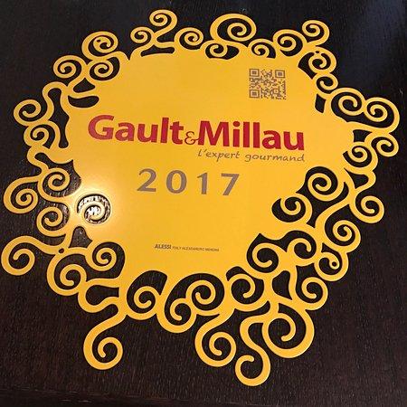 """Résultat de recherche d'images pour """"logo gault et millau 2017"""""""