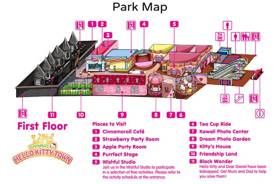 Hello Kitty Land Malaysia 45 mins away Picture of Creator Hotel