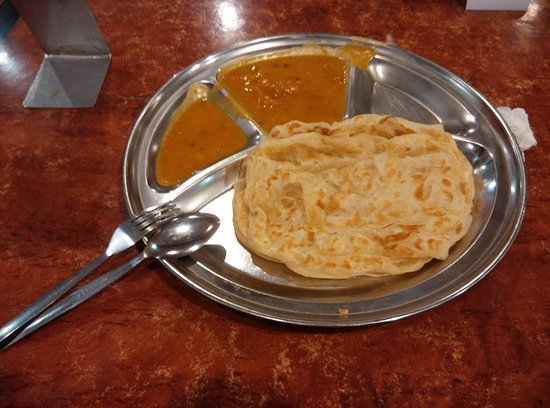 curry in a hurry prata