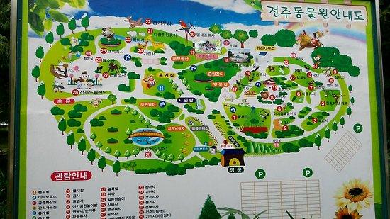 Jeonju Zoo Picture Of Jeonju Zoo Jeonju TripAdvisor - Jeongju map