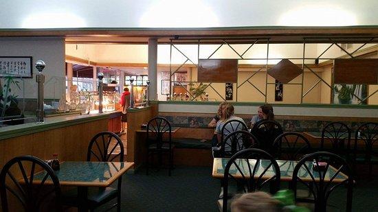 Bellefonte, PA: Dining area inside
