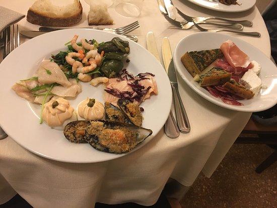 Hotel Antiche Terme di Sardara: Cena del sabato e pranzo della domenica