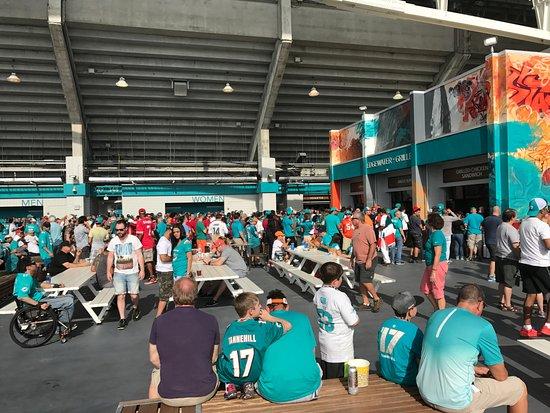 Hard Rock Stadium Picture Of Sun Life Stadium Miami Gardens Tripadvisor