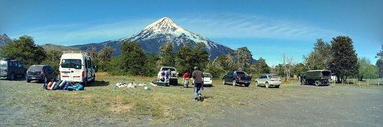 Junin de los Andes, Αργεντινή: Ascenso al volcán Lanin