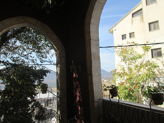 Beit Yosef Bed & Breakfast: View from our patio