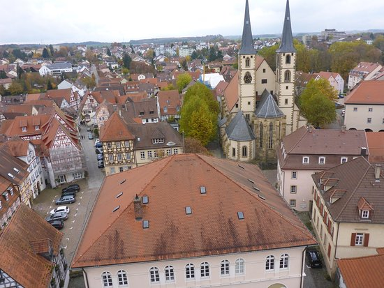 Bad Wimpfen, Germany: Splendid view over town