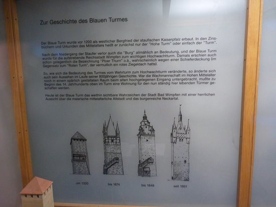 Bad Wimpfen, Germania: History of the tower