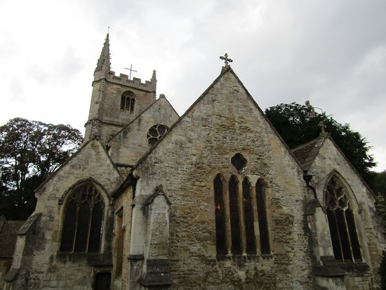 Castle Combe, UK: St. Andrew's Church
