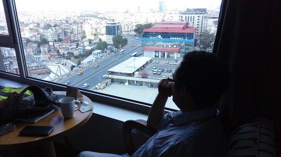 The Marmara Pera Hotel Görüntüsü