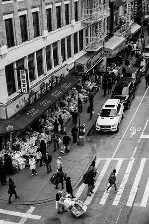 Overlooking chinatown from Manhattan bridge Picture of New York