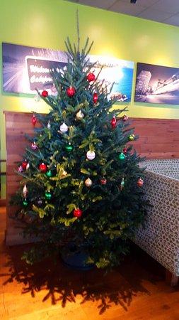 California Pizza Kitchen: Christmas tree