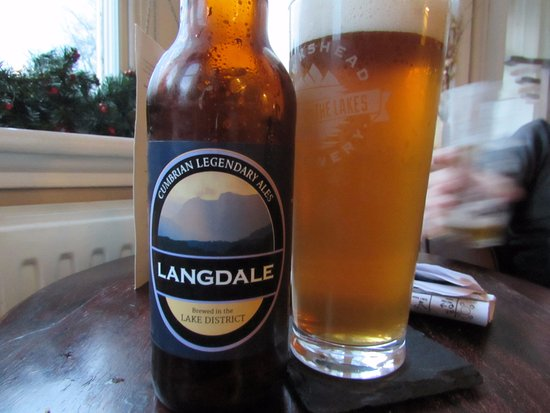 Near Sawrey, UK: Nice local beers